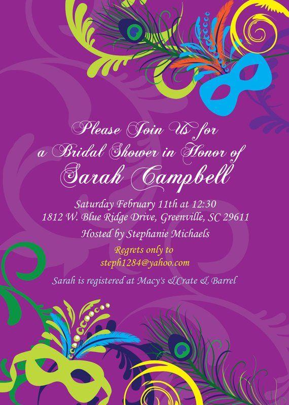 25048c6391fe Bridal Shower Invitation