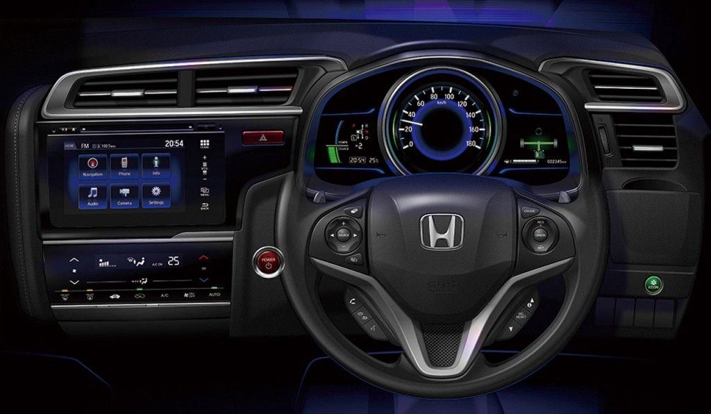 2015 Honda Fit Hybrid Dashboard Interior Automotive Pictures Wallpapers