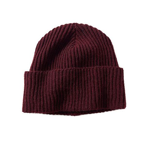 Bison down Fisher Beanie * THE BUFFALO WOOL CO * MADE IN USA