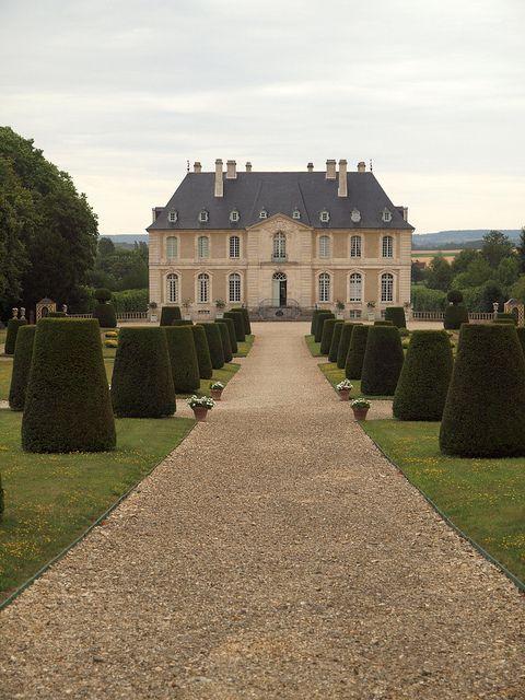 Chateau Vendeuvre Architecture Mansions Castle