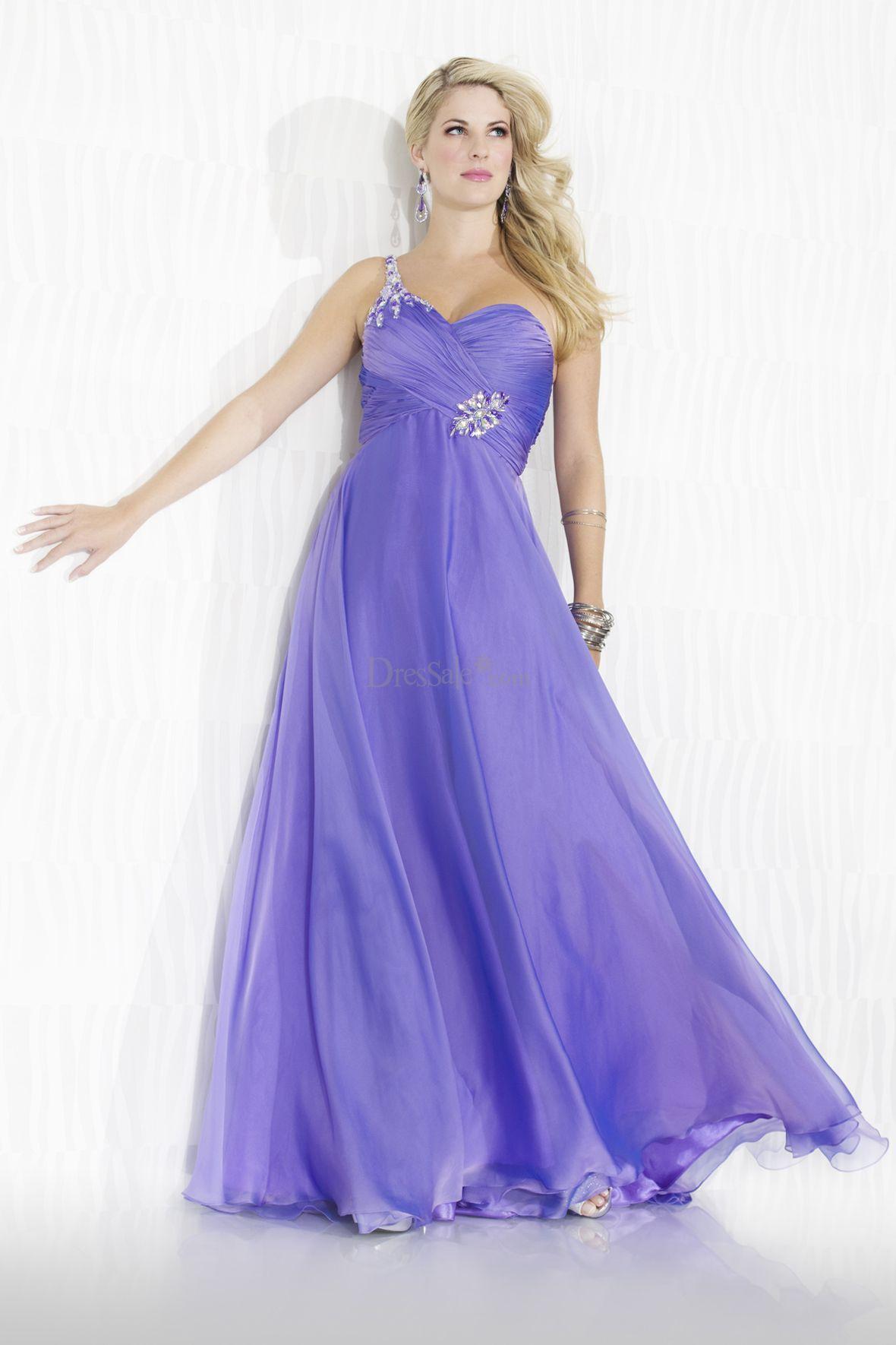Impressive Sweetheart Prom Dress with One Shoulder Design