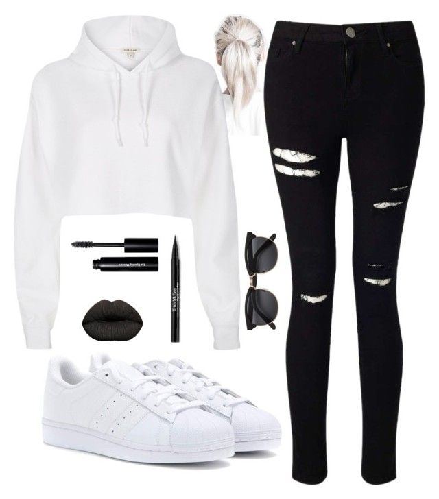 """""""My Dream Look 1"""" by gracefully-artistic on Polyvore featuring adidas, Miss Selfridge, Trish McEvoy and Bobbi Brown Cosmetics"""