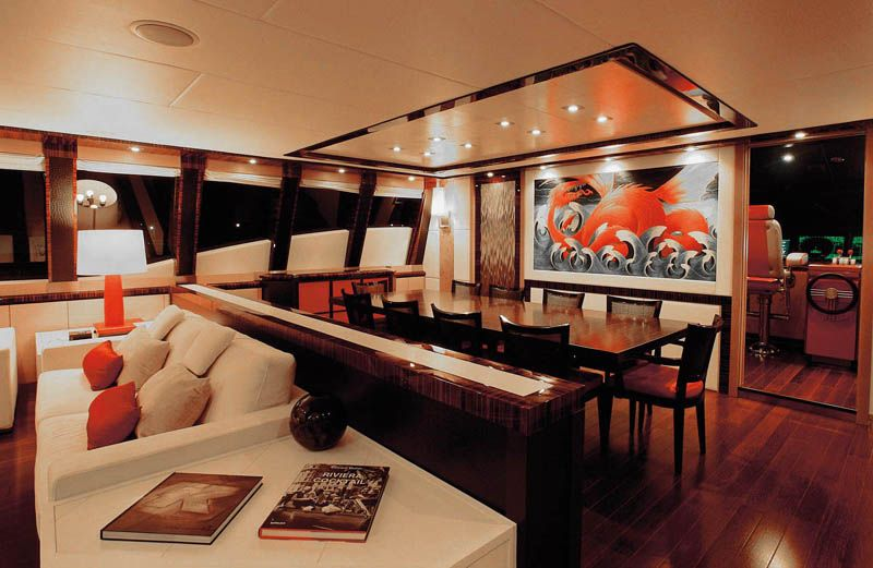Interiors Of Luxury Yachts