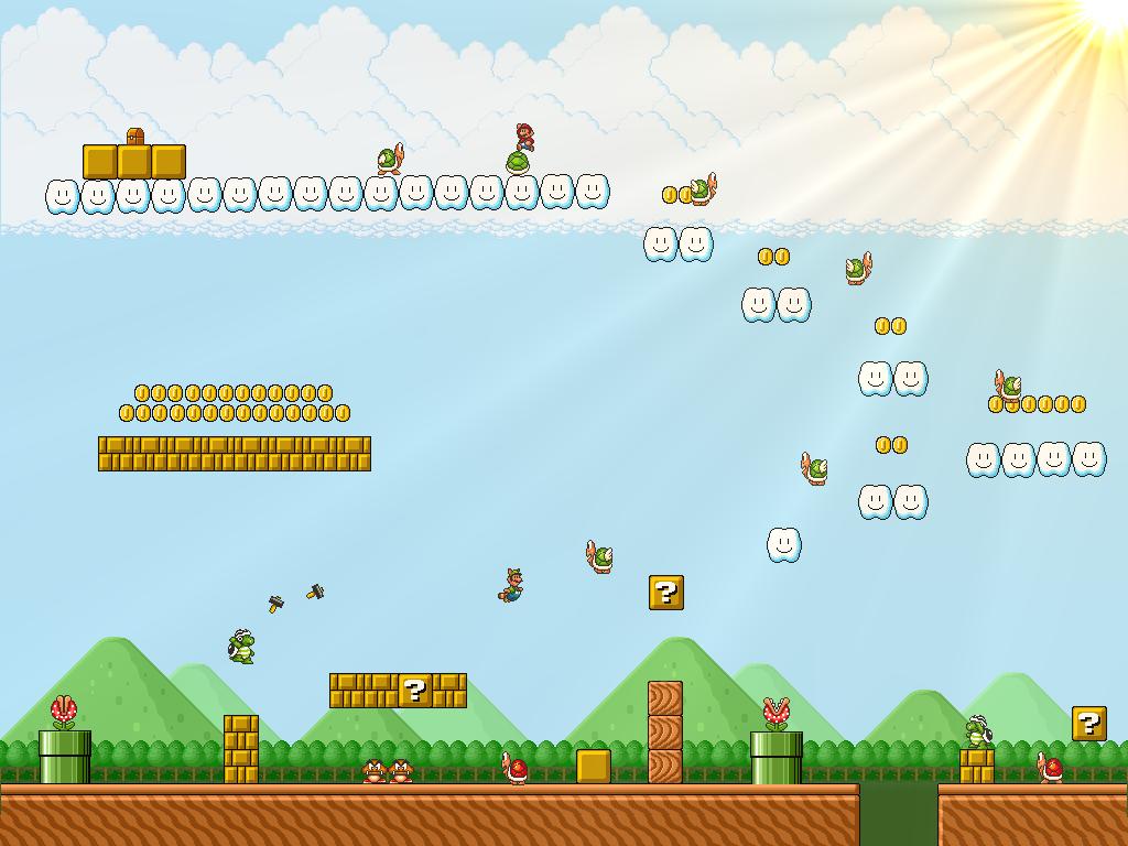Super Mario Bros 3 Big Island By Metadraxis Deviantart Com On
