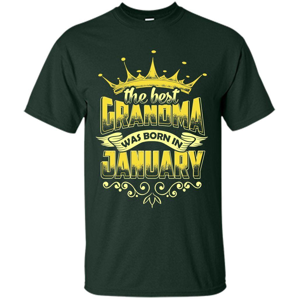The Best Grandma Was Born In January T-Shirt