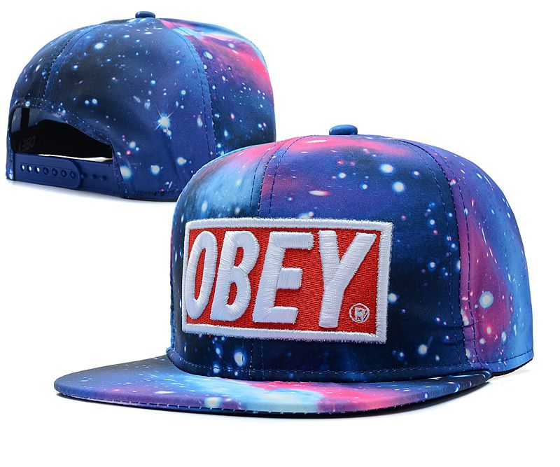 Cheap OBEY Galaxy Snapback Hat (1) (40910) Wholesale  eda30d54e1e