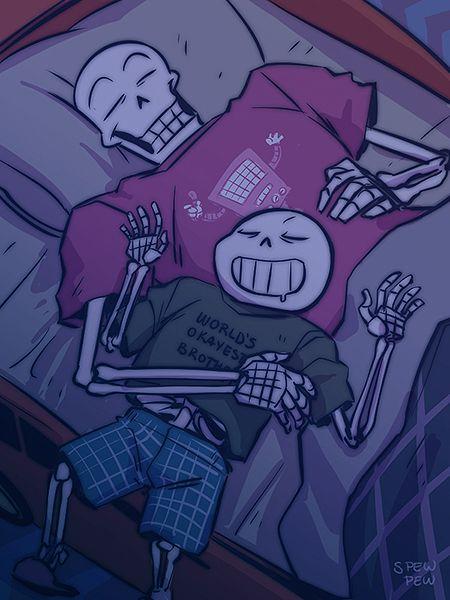 Pew Pew Pew, Drawing sleeping characters is my favoritest thing