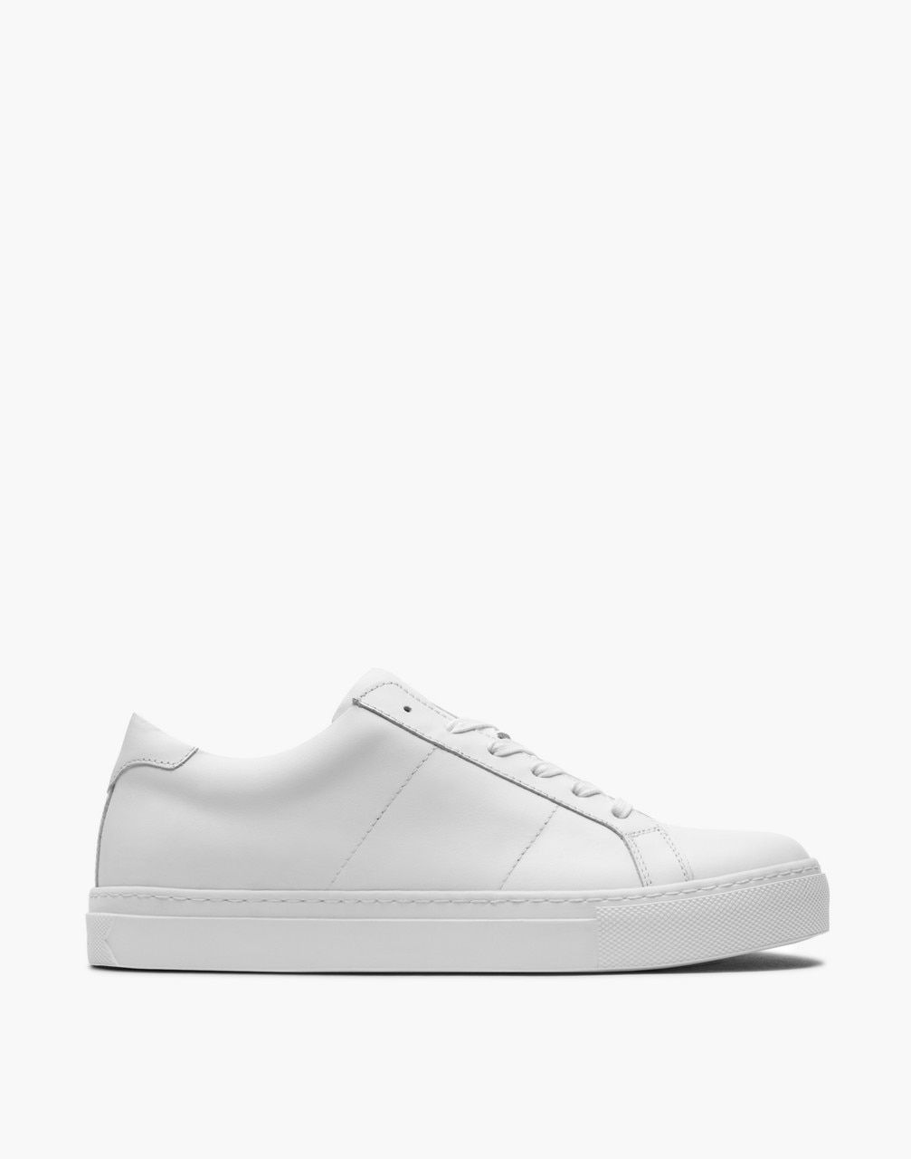 GREATS® Royale Leather Low-Top Sneakers in White