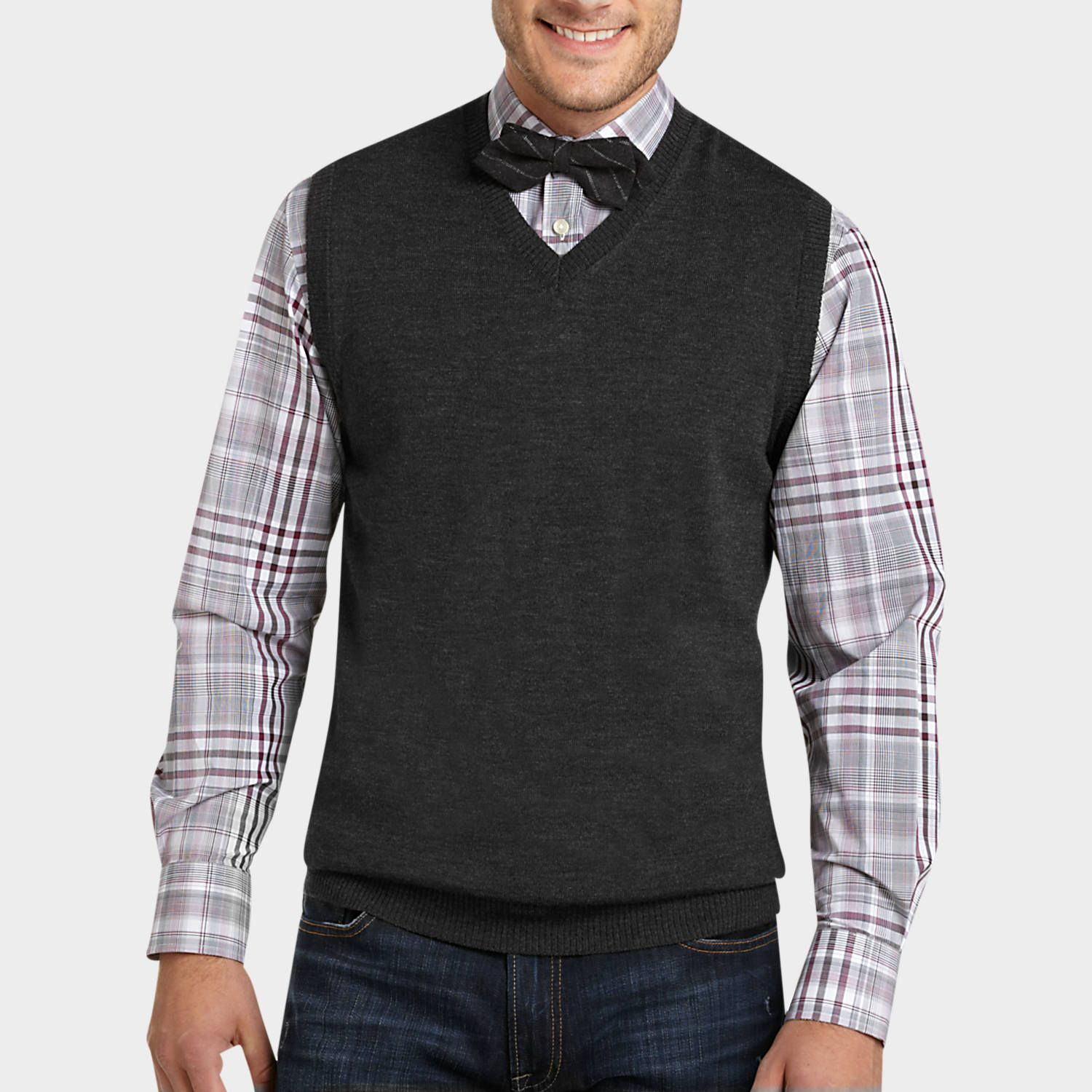 Sweater vests and bow ties. | If you're looking to buy me ...