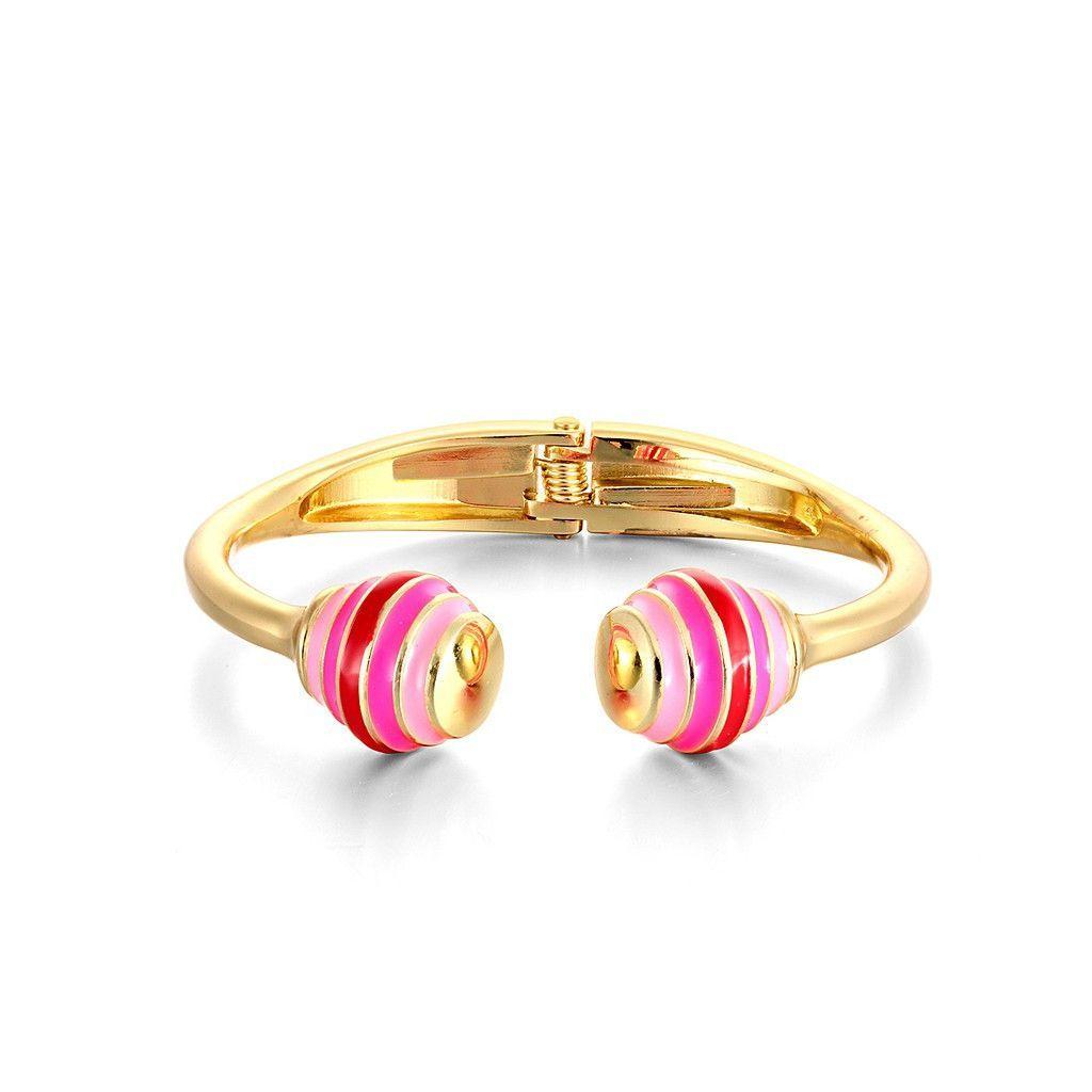 Pink cotton Candy Bracelet