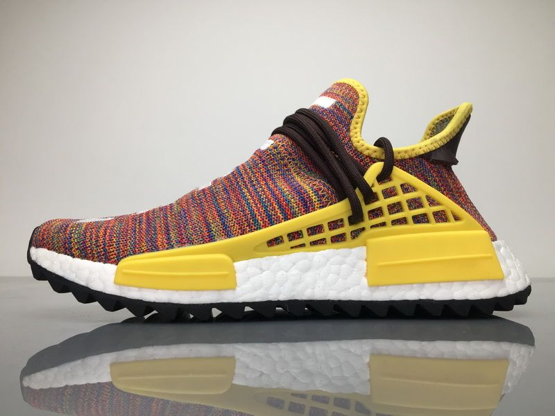 "b8864fb5d2b5a Adidas NMD Human Race Pharrell Williams "" Rainbow ""for Sale"