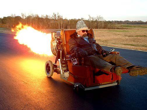 Speeding In A Rocket Chair Show