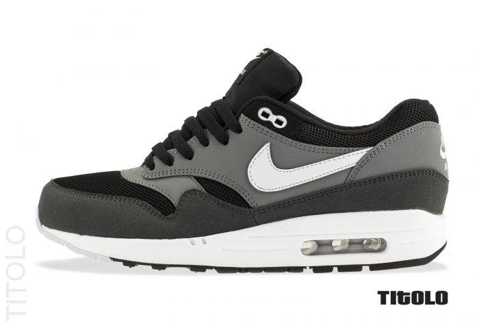 Nike Air Max 1 Essential - Black / Geyser Grey