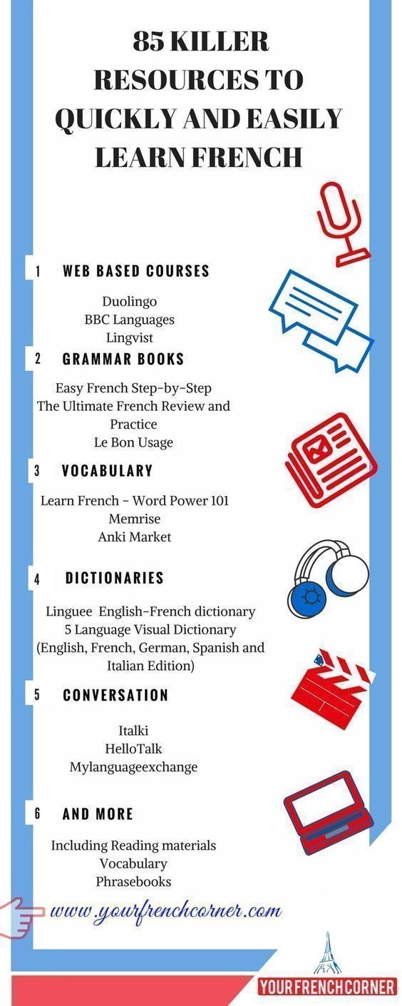 85 killer resources to quickly and easily learn french french french language lessons. Black Bedroom Furniture Sets. Home Design Ideas