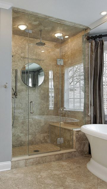 You Can Give Your Bathroom A Quick Inexpensive Makeover With A - Bathroom shower glass replacement