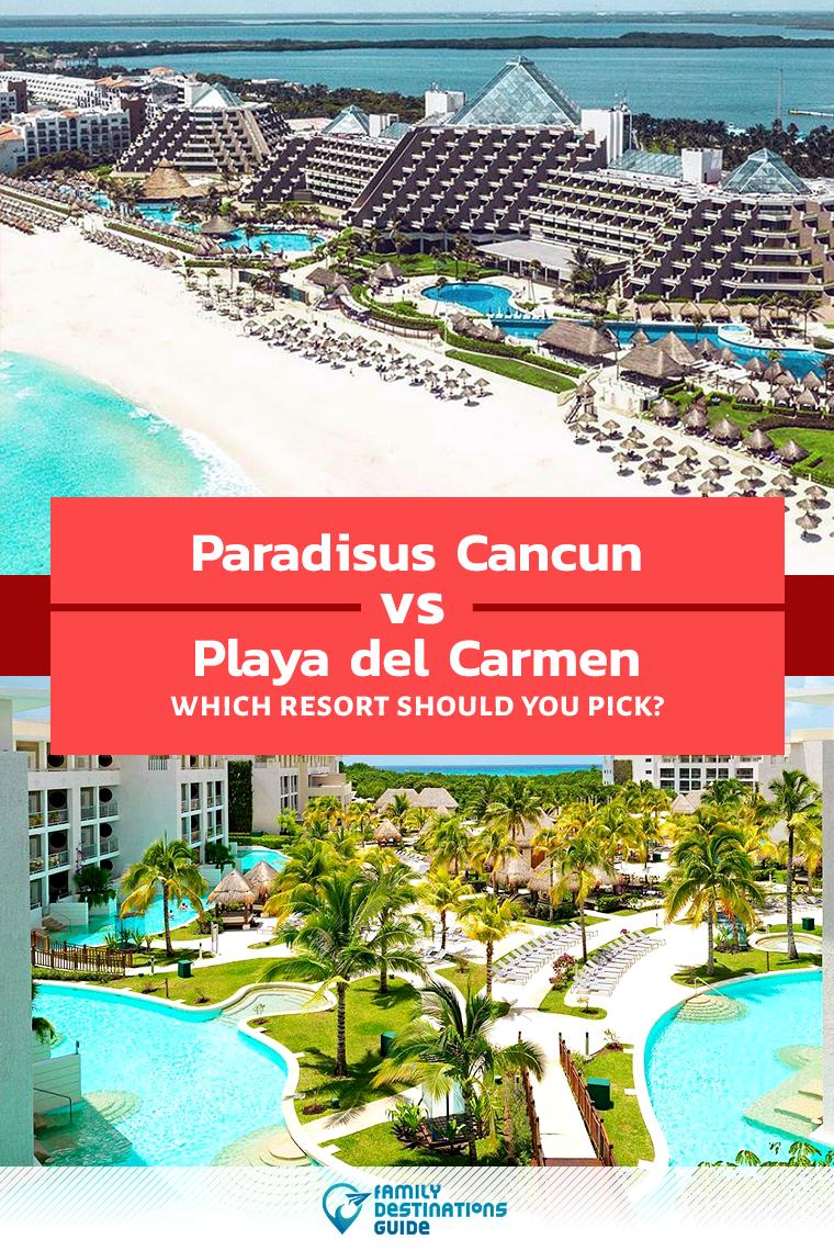 Paradisus Cancun Vs Playa Del Carmen Which Resort Should You Pick Playa Del Carmen Resorts Playa Del Carmen Cancun Resorts