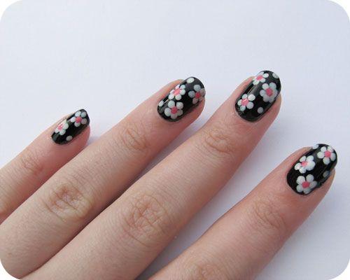 Use Bobby Pins As Dotting Tools For Nail Art