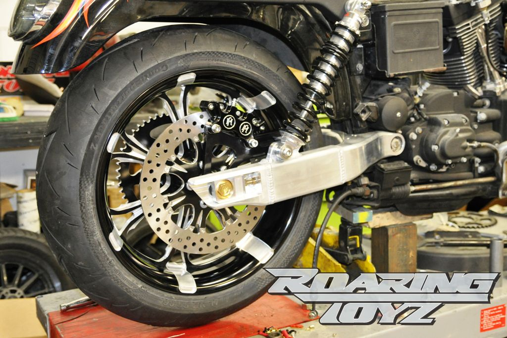 567d1e8a9 Custom Harley Davidson Dyna Aluminum Swingarm. Made from Billet and  internal braced extruded tubing our swingarms are light and more rigid than  the factory ...