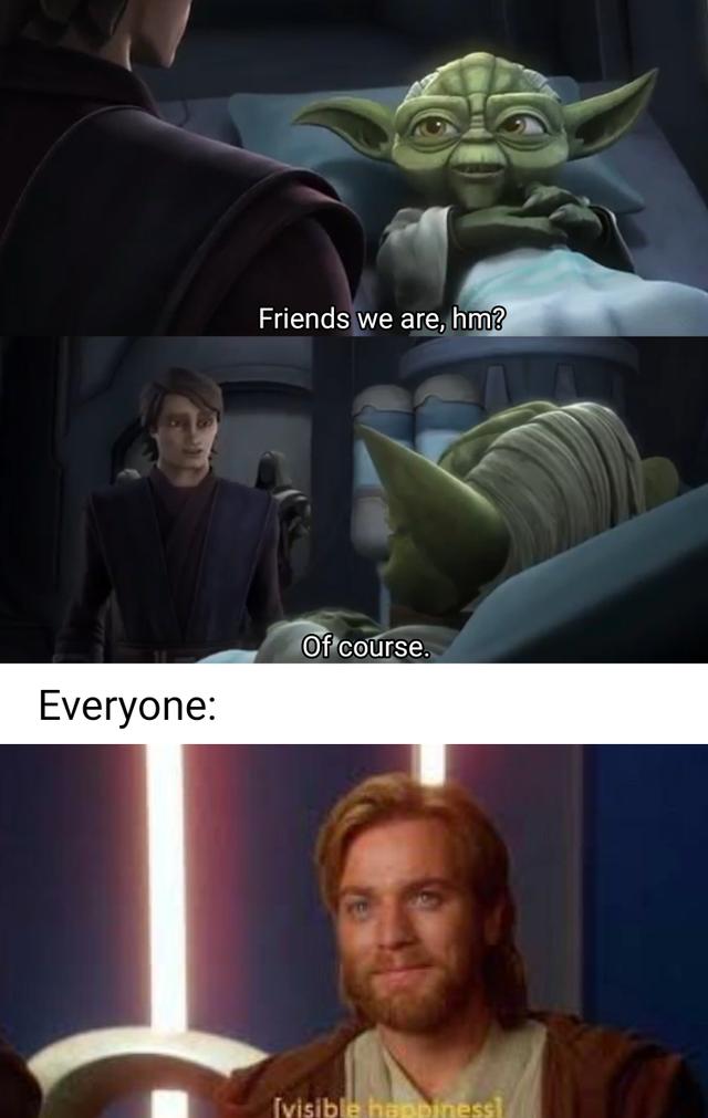Truly Heartwarming Prequelmemes Star Wars Images Funny Star Wars Memes Star Wars Humor