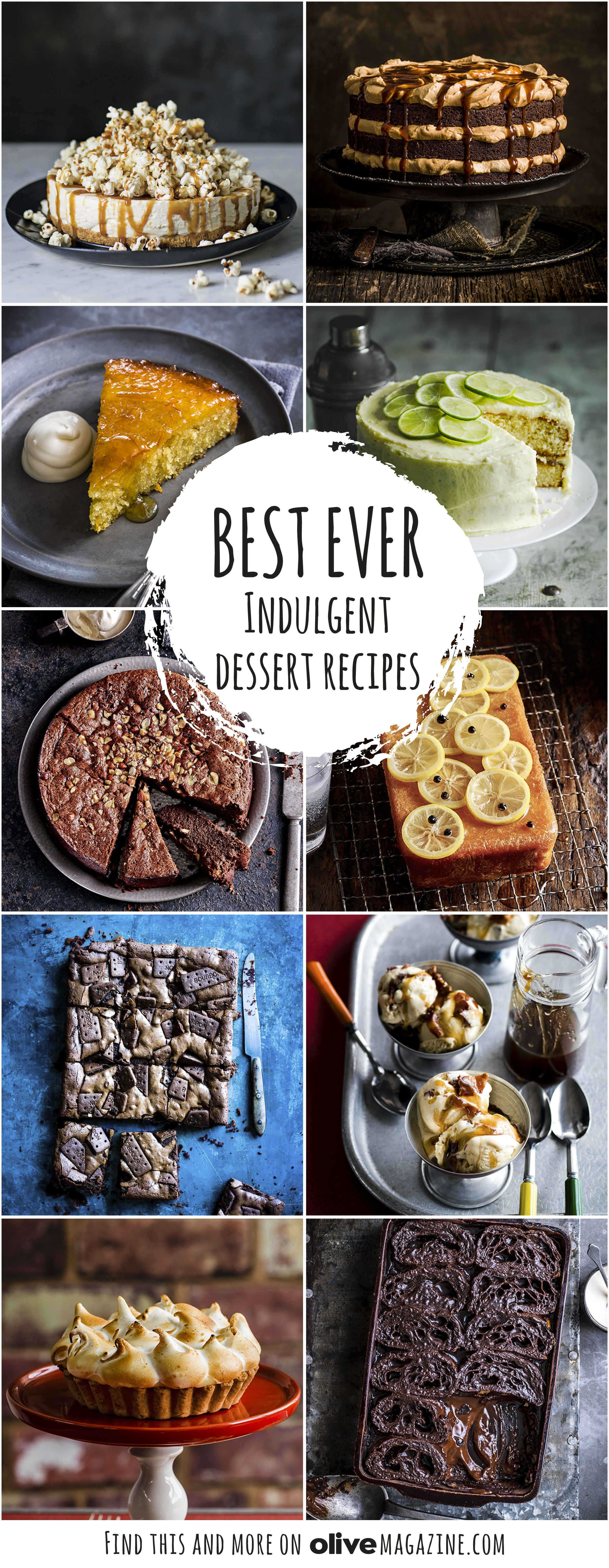 If you're on a diet, look away now! Our best ever indulgent sweet recipes include seriously comforting puddings and baking ideas with chocolate, caramel and more...
