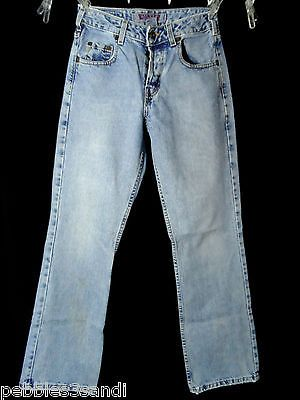 SILVER JEANS womens 27x30 Medium wash Denim straight leg Designer ...