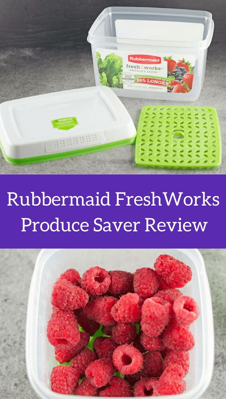 Rubbermaid FreshWorks Produce Saver Review Does it