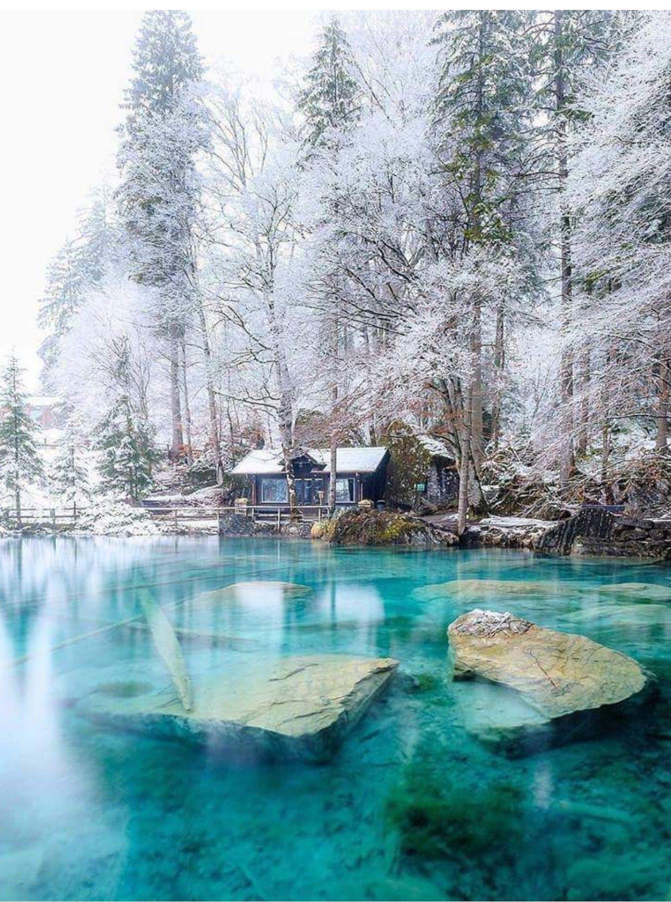 Le lac Blausee en Suisse Lake Life in 2018