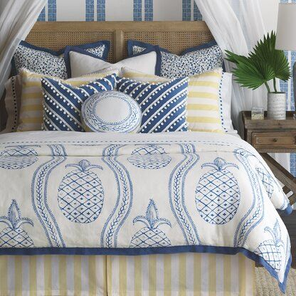 Photo of Eastern Accents Charleston Barclay Butera Single Reversible Duvet Cover