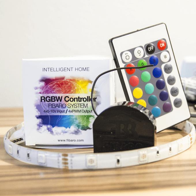 Fresh Fibaro RGBW Controller Hier findest du eine Anleitung wie du normale LED Lampen per WLAN