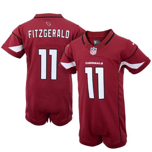 42cca14fef3 Nike Larry Fitzgerald Arizona Cardinals Newborn Game Romper Jersey –  Cardinal