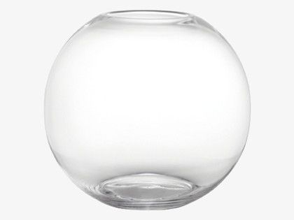 Boll Clear Round Glass Vase Round Glass Round Vase And Desks