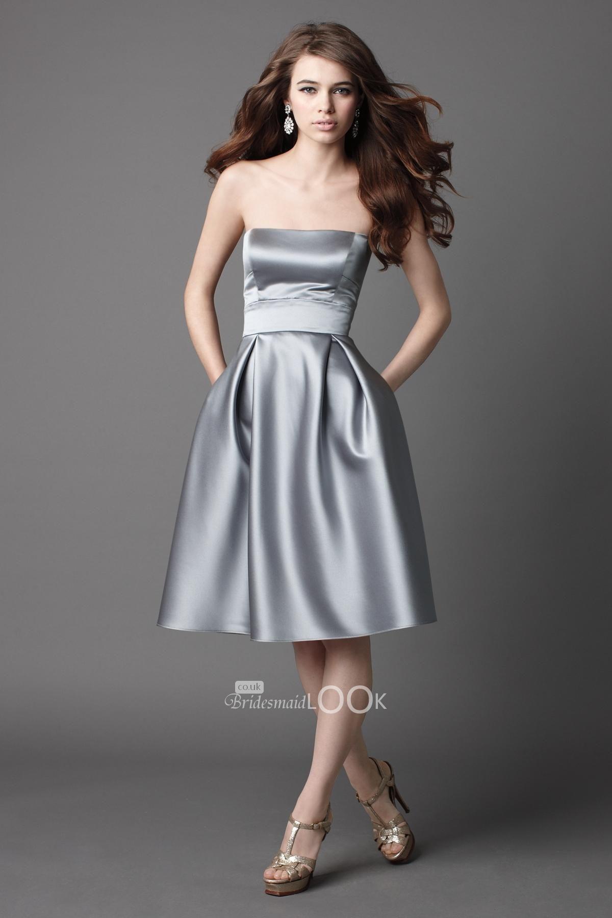 Strapless Bridesmaid Dresses Under 100