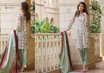 352a732b2e Firdous Summer Florals and Prints Lawn Collection 2017 for Women ...
