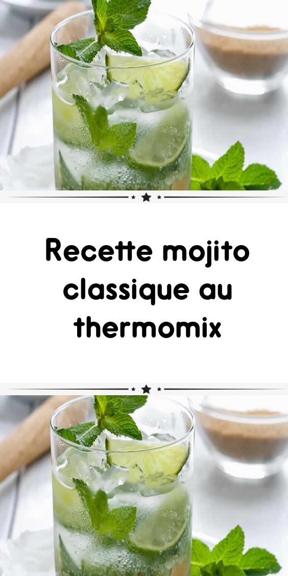 Recette Mojito Classique Au Thermomix