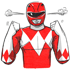 Facebook Messenger Power Rangers Stickers Free Download Power Rangers Png Stickers For Android Iphone Pc Power Rangers Ranger Messenger Stickers