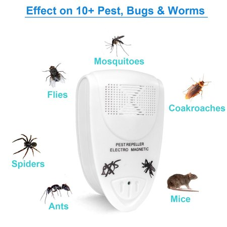 Cat Supplies Home & Garden Electronic Ultrasonic Rat Mouse Repellent Indoor Anti Mosquito Insect Pest Killer Reject Repeller Rodent Control For Indoor Home