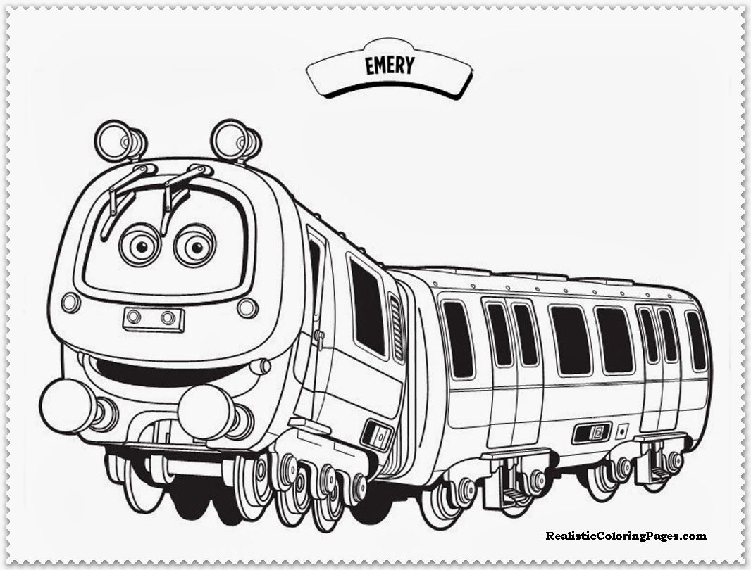 chuggington coloring pages emery,chuggington coloring pages ...