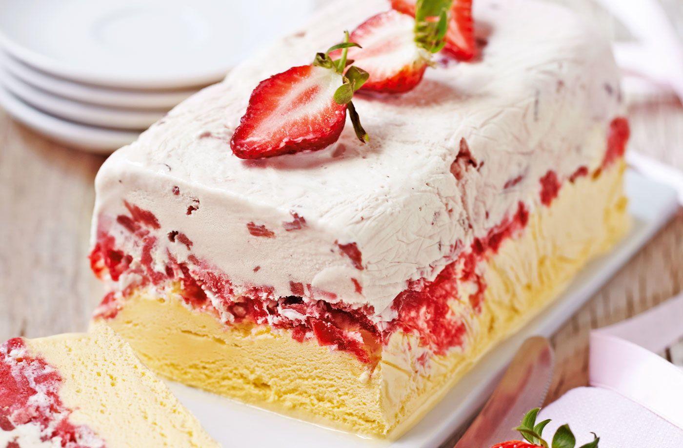 Eton mess ice cream cake tesco real food recipe in