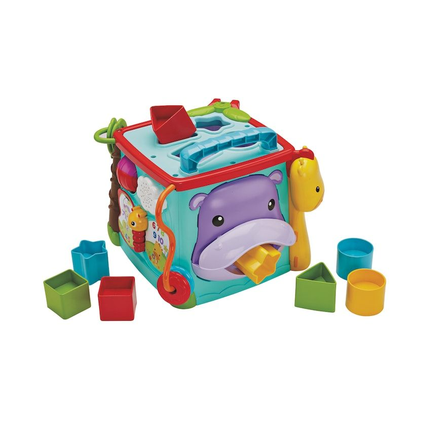 Fisher-Price Play & Learn Activity Cube | Activity cube ...