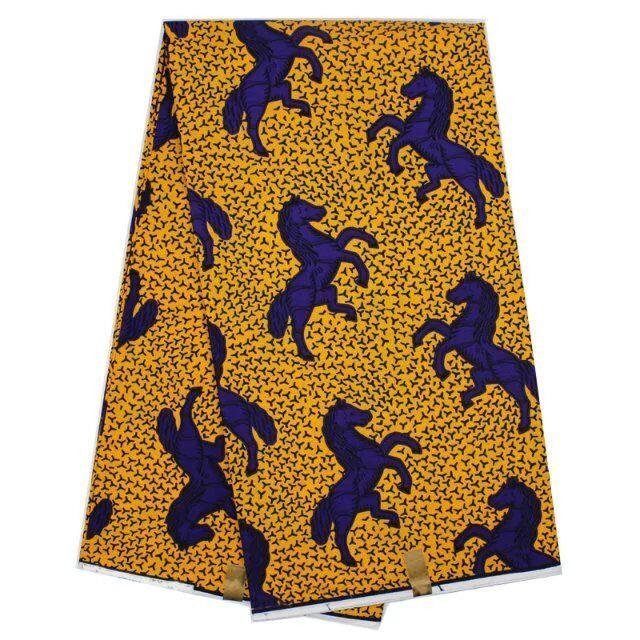 Girl sleeveless Africa ankara fabric print batik dress