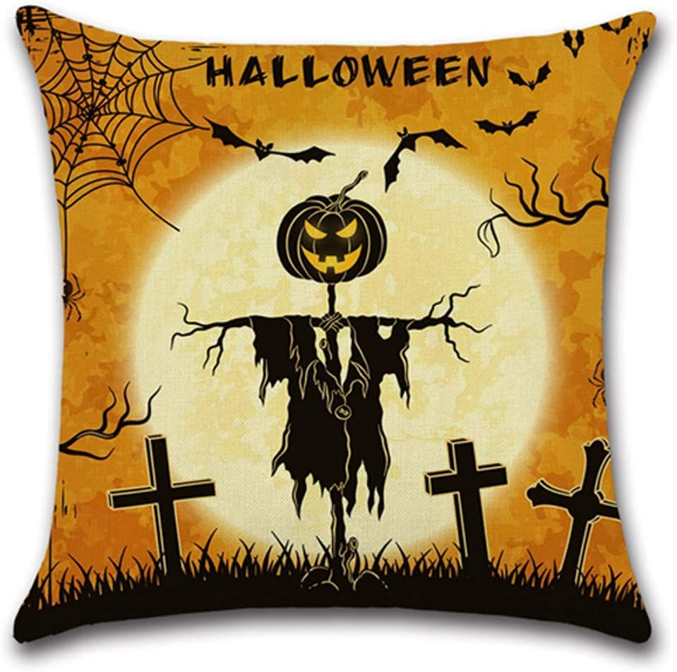 CARRIE HOME Halloween Decorative Throw Pillow Covers 18x18
