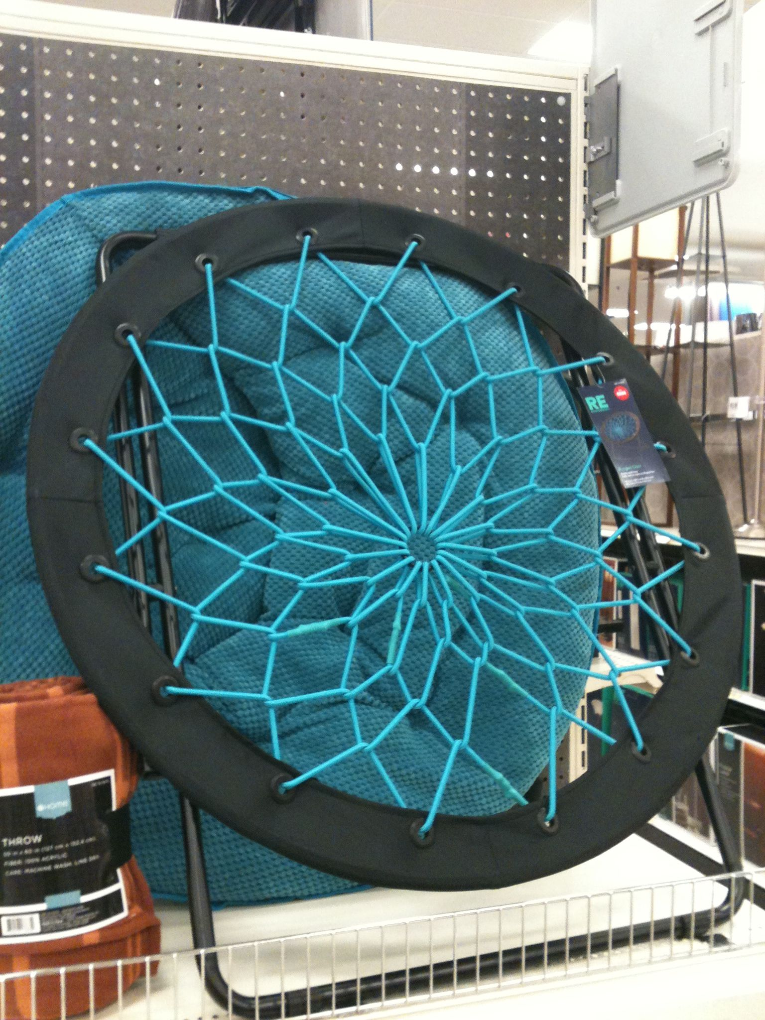 Cool Chairs At Target Round Bungee Chair In Teal At