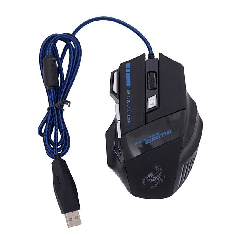Dtime usb laptop computer pc gaming air mouse for dota2