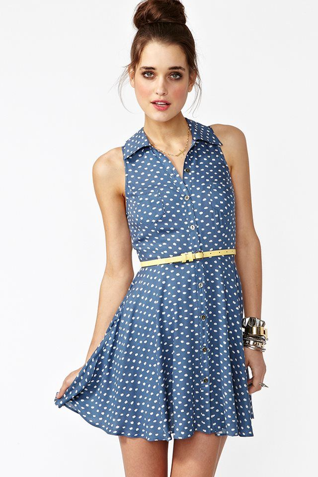 cute lil polka dot dress
