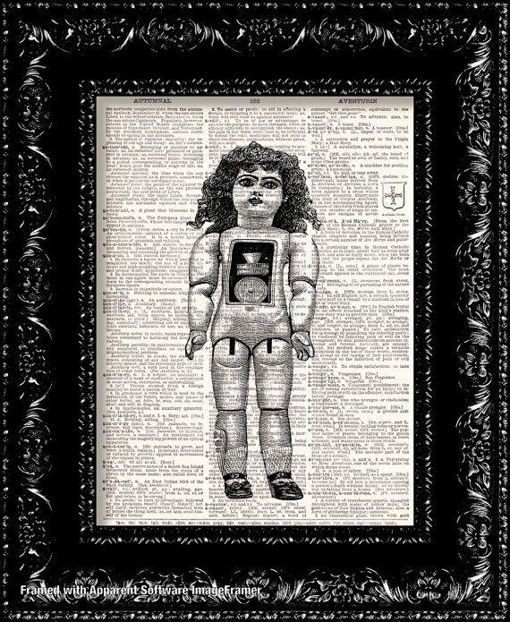 BOGO SALE Free Print Steampunk Doll Anatomy by ...