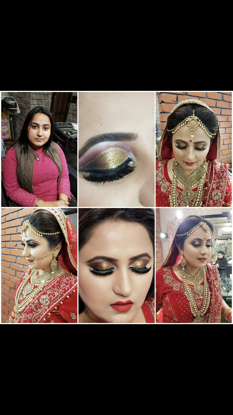 Beautiful Bride before and after. Need makeup artist call