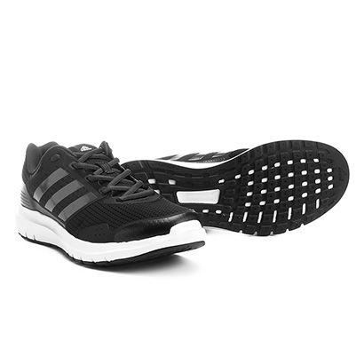 d8248a906f ... O Tênis Adidas Duramo 7 Masculino Preto é um tênis de corrida com  excelente amortecimento.