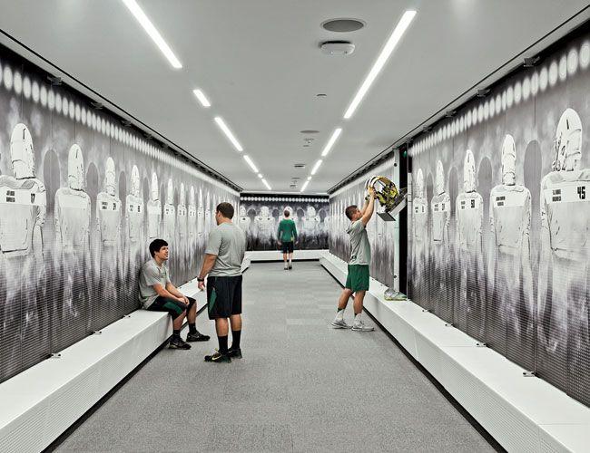 Football Performance Center, University of Oregon ZGF Architects Eugene