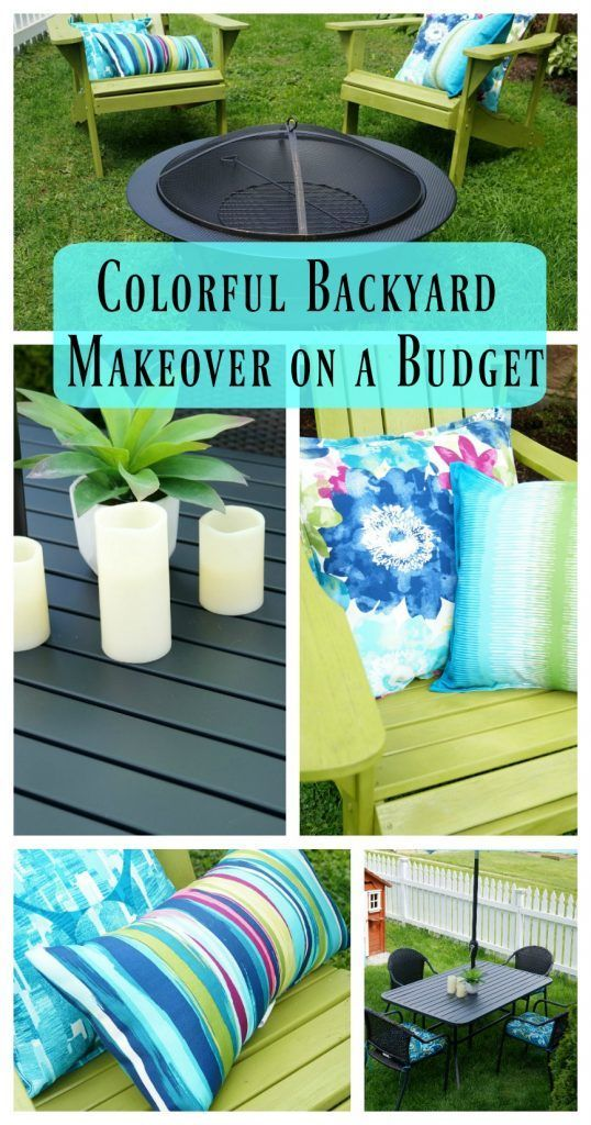Budget Backyard Makeover