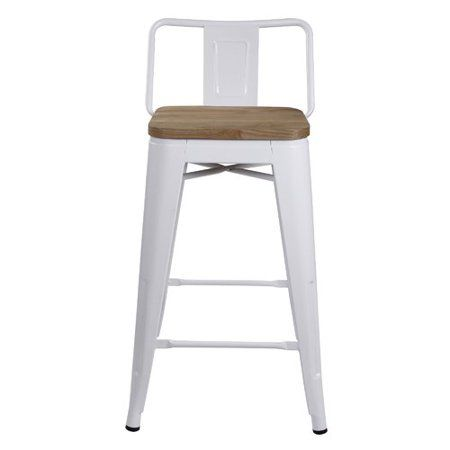 Free Shipping Buy 17 Stories Alric Low Back Metal 24 Bar Stool